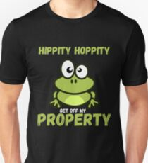 hippity hoppity Unisex T-Shirt