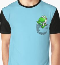Pocket Yoshi Tshirt Graphic T-Shirt