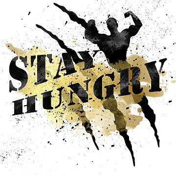 Stay Hungry Gold Winner Black Claws #03 by DennsDesign