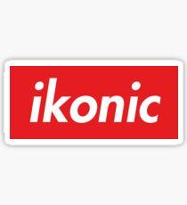 Ikonic - Red. Sticker