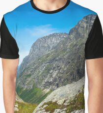 Trollstigen near Andalsnes, Norway Graphic T-Shirt