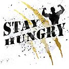 Stay Hungry Iron Hands by DennsDesign