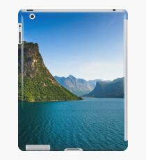 Oldevatnet Lake near Olden iPad Case/Skin