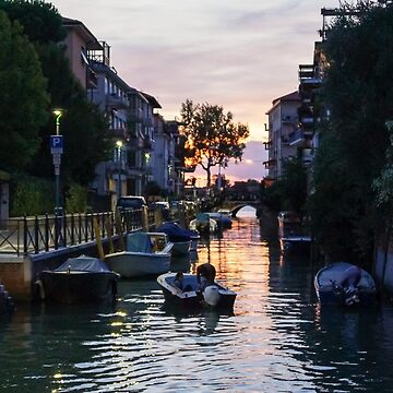 Sunset in Venice by Rexel99
