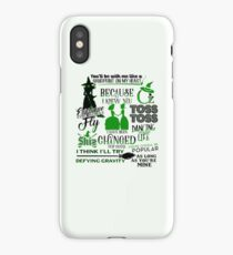Wicked Quotes iPhone Case
