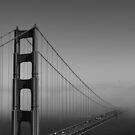 Across the Water.. Golden Gate Bridge, San Francisco by Igor Pozdnyakov