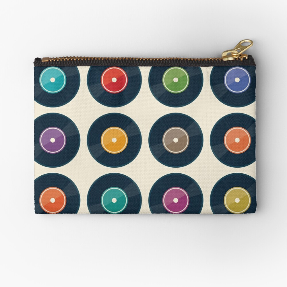 Vinyl Record Collection Zipper Pouch