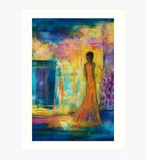 She Walks Through the Fair Art Print