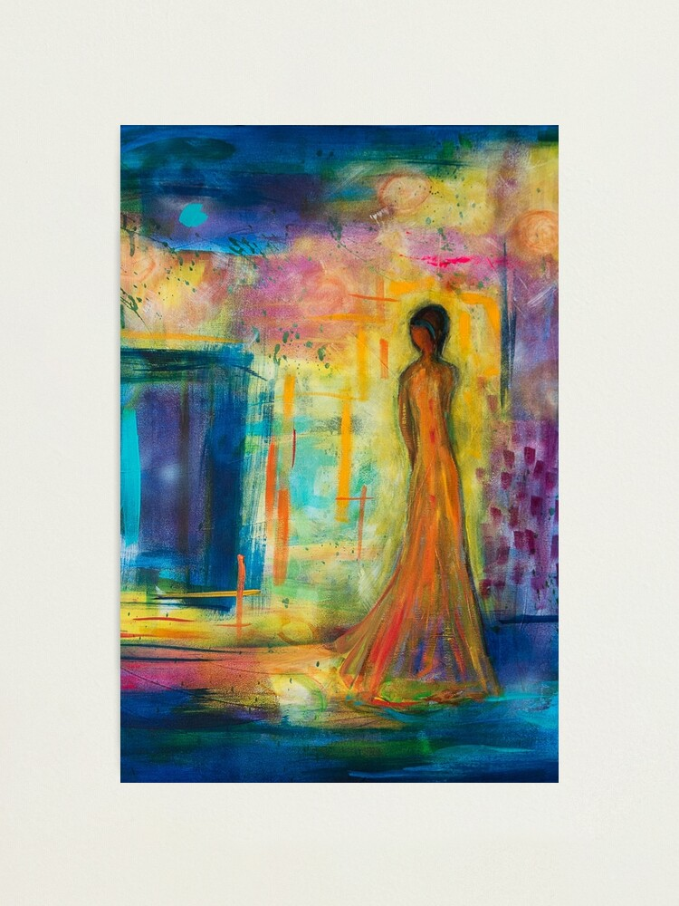Alternate view of She Walks Through the Fair Photographic Print