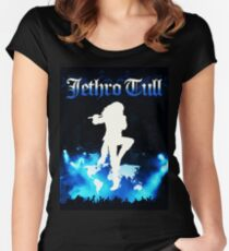 jethro tull world tour 2018 telur Fitted Scoop T-Shirt
