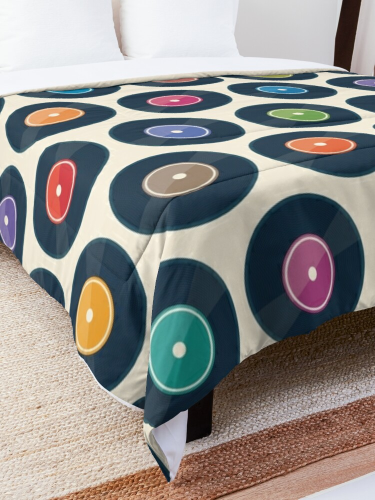 Alternate view of Vinyl Record Collection Comforter