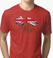 Bushcraft United Kingdom flag Tri-blend T-Shirt