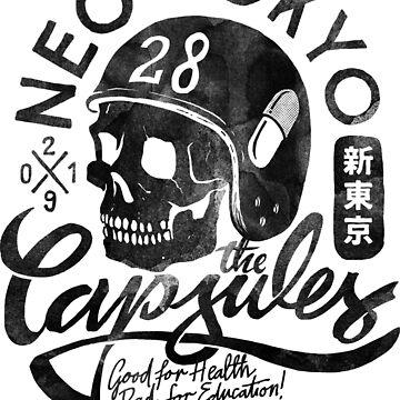 The Capsules - black ink by Krobilad
