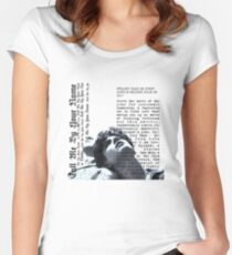 Call me by your name Fitted Scoop T-Shirt