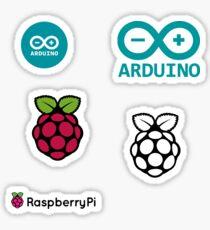 arduino raspberry pi set Sticker