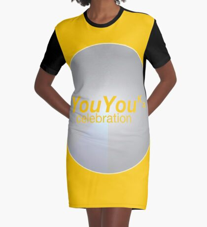 YouYouka about 1 Graphic T-Shirt Dress