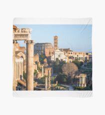 Ancient Rome city skyline with the Roman Forum. Rome. Lazio. Italy. Scarf