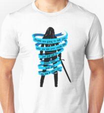 Die Leute werden es dir sagen ... Slim Fit T-Shirt