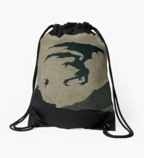 Slay your dragons Drawstring Bag