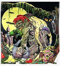 The stalking horror Poster