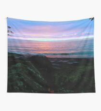 Sunrise At Lake Erie Wall Tapestry