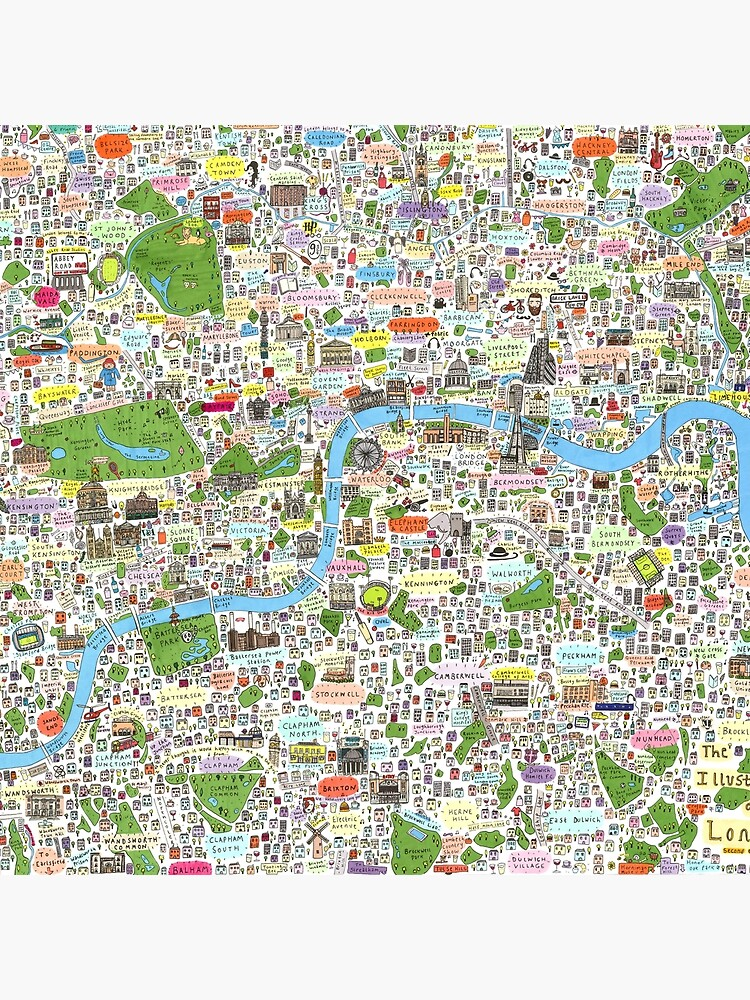 Germany, Ethnic, Cultural, Fun and Humor Cartoon City Map by Yapsalot