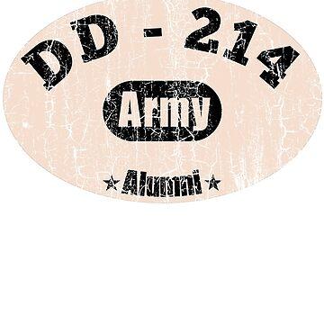 DD-214 US Army Alumni veteran shirt by TulleDesign