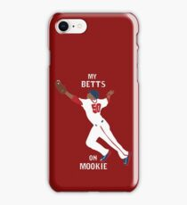My Betts On Mookie iPhone Case/Skin