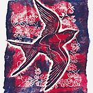 Swooping Swallow by CraftyBunStudio