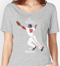 My Betts On Mookie Women's Relaxed Fit T-Shirt