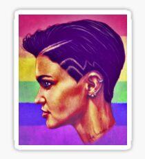 Ruby rose pride Sticker