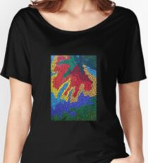 Cactus Flower Women's Relaxed Fit T-Shirt