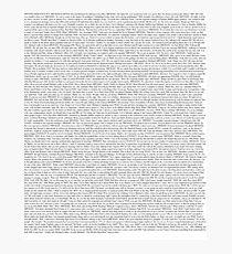The Office pilot episode script (us) Photographic Print