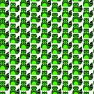 Green Panda - Raccoon/Trash Panda by Castiel Gutierrez