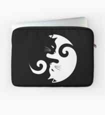 Ying Yang Cats - Black & White Laptop Sleeve
