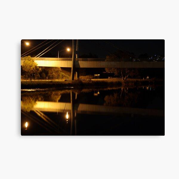 Walk Bridge Canvas Print