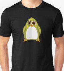 Yellow Green Penguin 2 T-Shirt