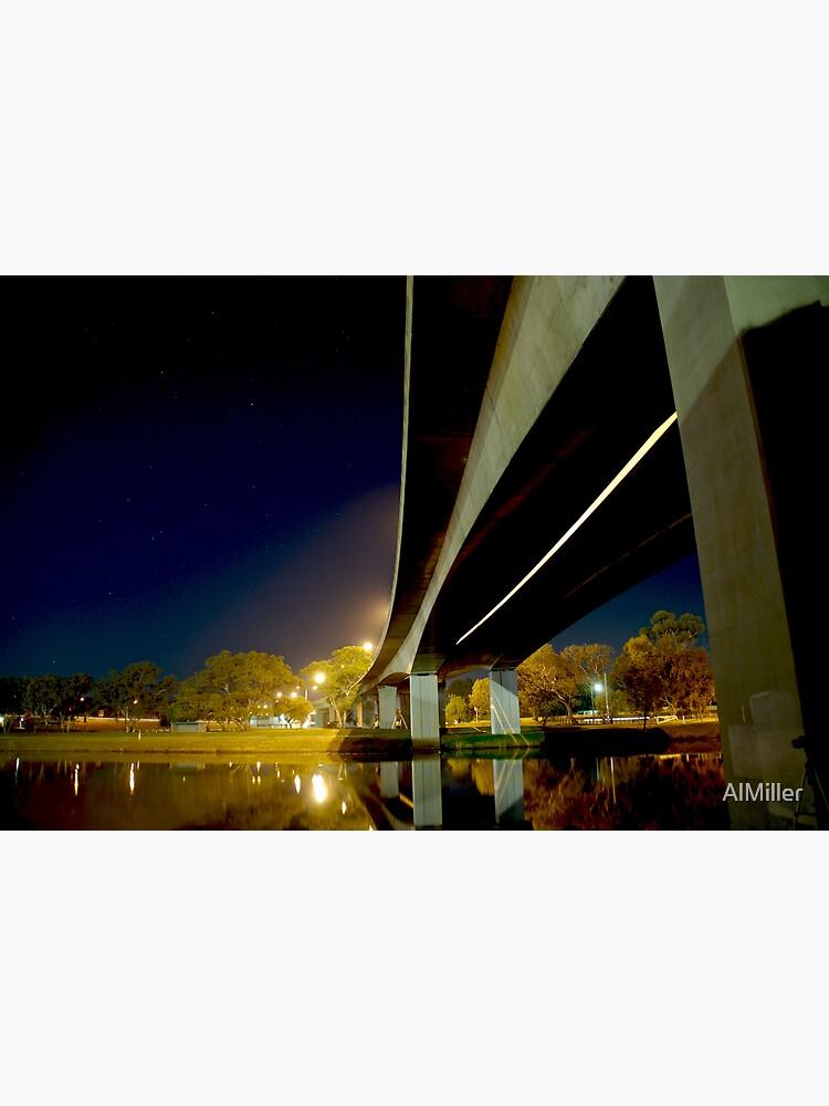 Night Bridge by AlMiller