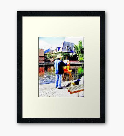 Art Attack Framed Print