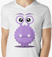 Dino the monster Men's V-Neck T-Shirt