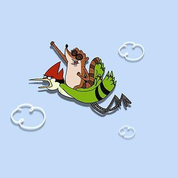 We're flying Dude! by RootBeerRobot