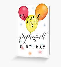 Chemie-Geburtstagskarte Grußkarte