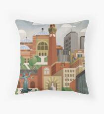 University Of Birmingham Throw Pillow