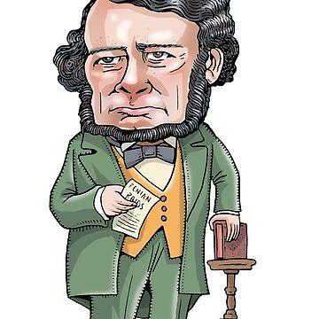 Thomas D'Arcy McGee by MacKaycartoons