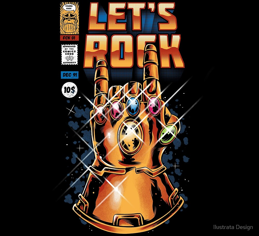 Let's Rock by Ilustrata Design