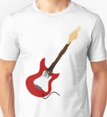 Play Electric Guitar Illustration Unisex T-Shirt