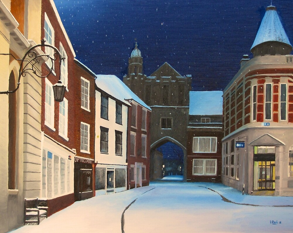 Romsey Snow by Richard Paul