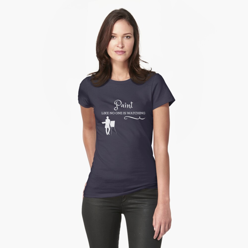 Artist's T shirts and gifts Womens T-Shirt Front