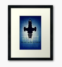Firefly You Can't Take the Sky From Me Framed Print