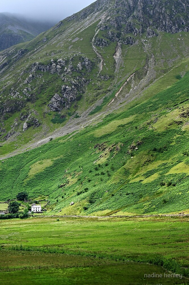 House on the old road, Snowdonia by nadine henley